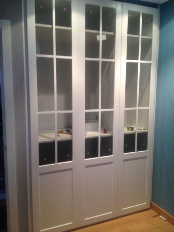 Trabajos de muebles zure tienda muebles en durango - Puertas de cristal para armarios ...