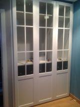 Armarios puertas batientes con cristal 1