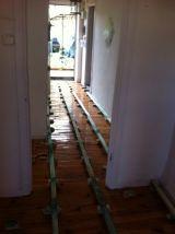 Instalación de parquet, puertas y escaleras